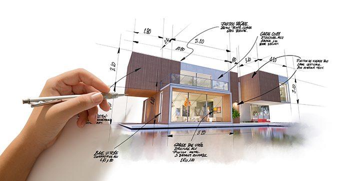 Diseño de exteriores de casas modernas