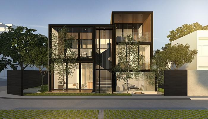 fachadas exteriores casas modernas